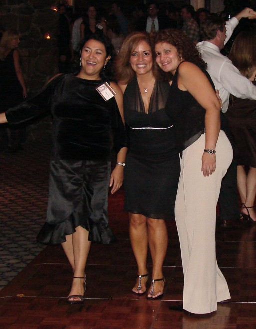 Lillian Sierra, Yvette Aviles, and Martha (Bonilla) Talcovitz