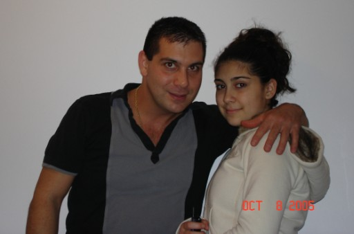 Joe Bonito and his daughter Carmela