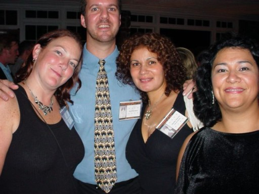 Liza Boxley, Rich Martinson, Martha (Bonilla) Talcovitz, and Lillian Sierra