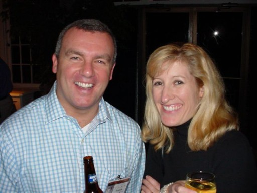 Mark Reilly & Sarah Novick (wife of Peter Novick)