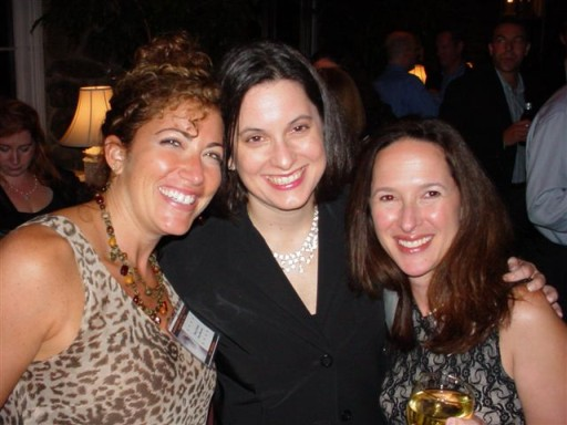 Betsy (Bluestone) Geesin, Amy Becker, and Rena Bruckman Jureller