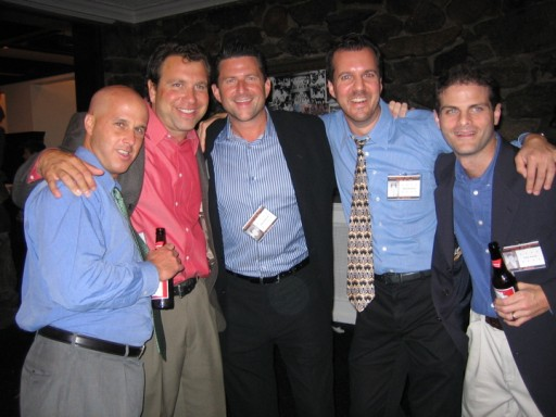 Mark Reda, Bob Beresford, John Heffernan, Rich Martinson, and Peter Novick
