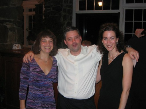 Carolyn Ciraco, Graham Clarke and Donna (Gelardo) Dente