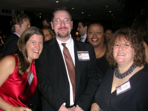 Jackie Goldman Sasloff, Robert Frommer, Sallie Frommer, and Amy (Friedman) Jakob