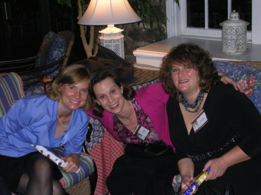 Hillary Bogner, Helen (Willey) Widlansky, and Amy (Friedman) Jakob